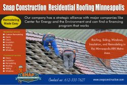 Snap Construction Residential roofing minneapolis