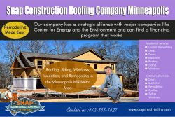 Snap Construction Roofing company minneapolis