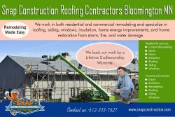 Snap Construction roofing contractors bloomington mn