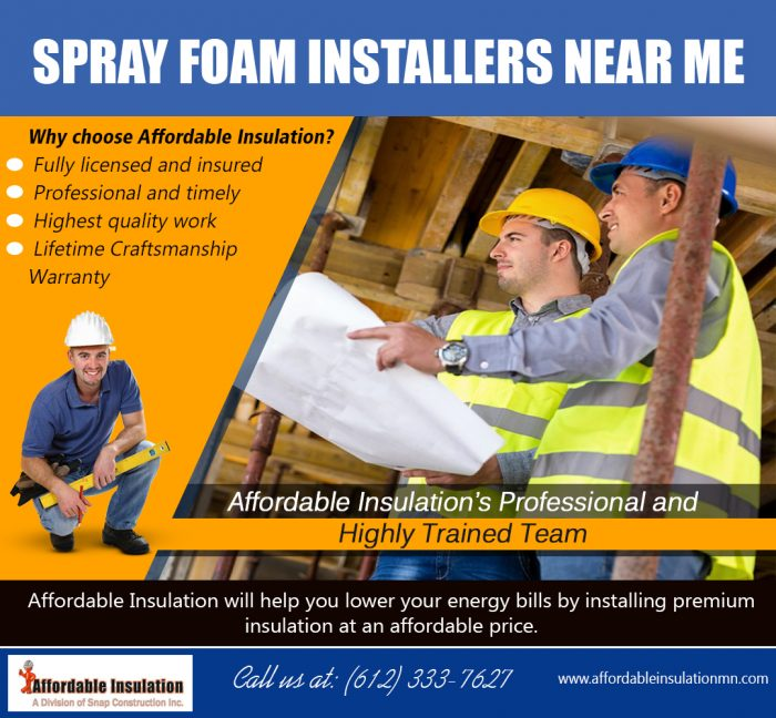 Spray Foam Installers Near Me Affordableinsulationmn Com