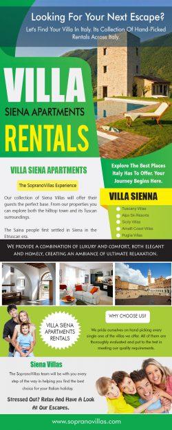 Villa Siena Apartments Rentals | sopranovillas.com