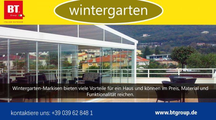 Wintergarten | btgroup.de