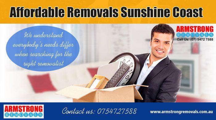 Affordable Removals Sunshine Coast | armstrongremovals.com.au