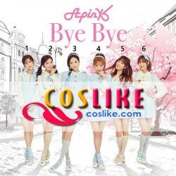 Apink Bye Bye 水色 スカート