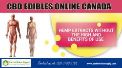 CBD edibles online canada | Call Us – 416-922-7238 | earthchoicesupply.com