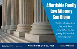 Affordable Family Law Attorney San Diego | (858) 922-7098