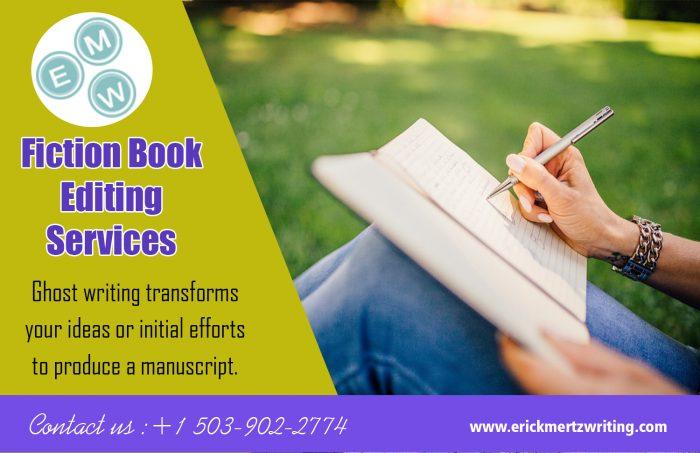 Fiction Book Editing Services | erickmertzwriting.com
