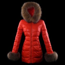 2018 Moncler Women Fur Jacket Purple The Best Seller UK monclerjacketsmen.com