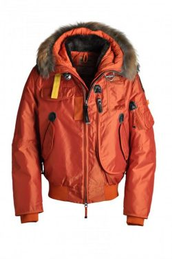 Men's Parajumpers Ugo Jackets Orange parajumperswomen.com