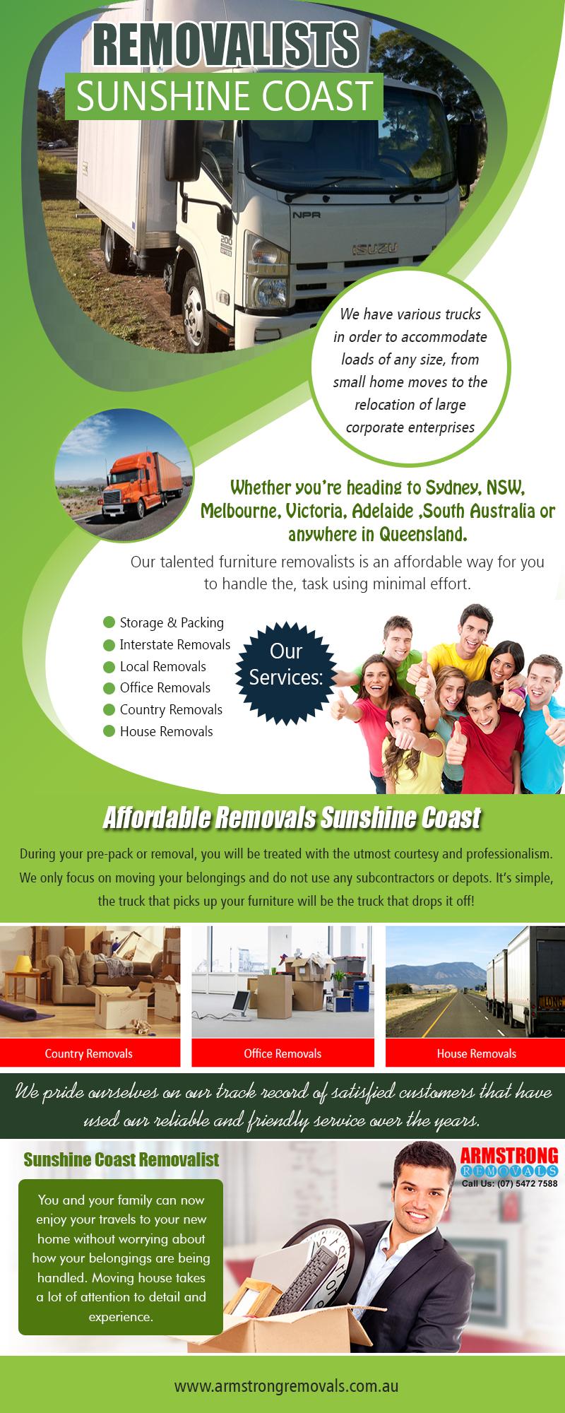 Sunshine coast removalist | armstrongremovals.com.au