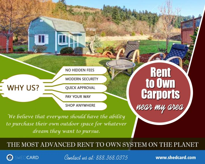 Rent to Own Carports | 888.368.0375 | shedcard.com ...