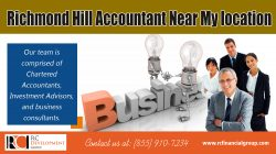 Richmond Hill Accountant Near My location
