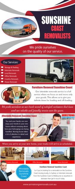 Furniture Removals Sunshine Coast | armstrongremovals.com.au
