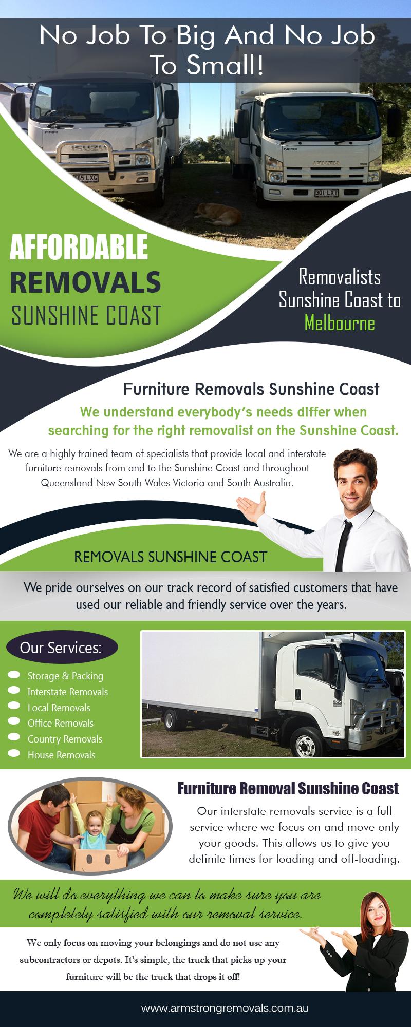 Affordable Removals Sunshine Coast   armstrongremovals.com.au