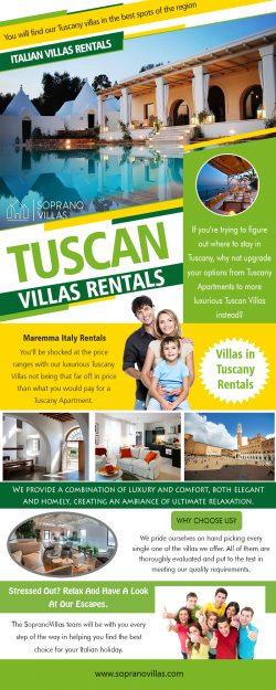 Tuscan Villas Rentals