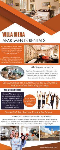 Villa Siena Apartments Rentals
