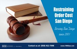 Restraining Order Cost San Diego | (858) 922-7098