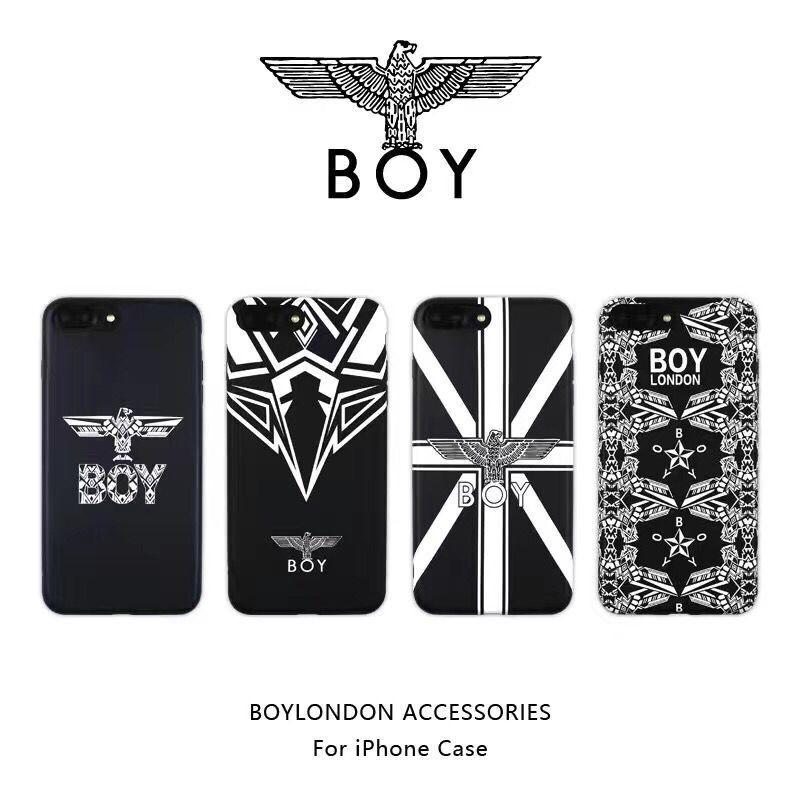 ボーイロンドン iphoneX plusケース かっこいい BOY LONDON iphone8/7カバー 薄型 アイフォン7プラスケ ...