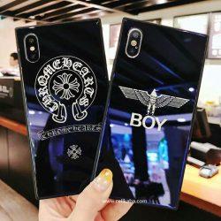 ボーイロンドン iphoneX plus デコケース クロムハーツ アイフォン6s/6 プラス カバー CHROME HEARTS  ...