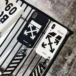 オフ-ホワイト iphone8/7plusケース OFF-WHITE iPhone7/6 plusカバー ストリート風 アイフォンカバー6 ...