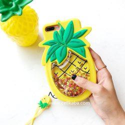 オリジナル iphoneX カバー パイナップル 個性 iphone8 ケース おしゃれ アイフォン7プラス カバー ス ...