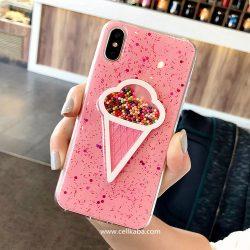 オリジナル iphoneX カバー アイスクリーム 個性 iphone8 ケース おしゃれ アイフォン7プラス カバー  ...