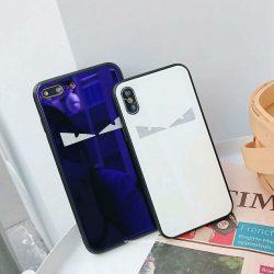 フェンディ かわいい アイフォンテンケース モンスター iPhone8/7plusカバー FENDI キュート iphone7  ...