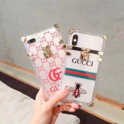 ブランド GUCCI iphone9/8/7 ケース ジャケット クリア アイフォンXSプラスカバー GG風 iphoneX/8/7/6  ...