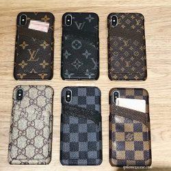 ブランド LV Gucci iPhoneXS Plusケース カードポケット付き iphone8/7plusカバー アイフォン9ケース  ...