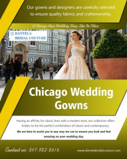 Chicago wedding gowns