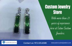 Custom Jewelry Store | 972 335 6500 | eatoncustomjewelers.com