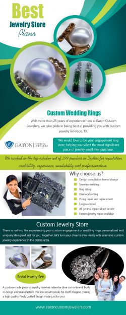 Custom Wedding Rings | 972 335 6500 | eatoncustomjewelers.com