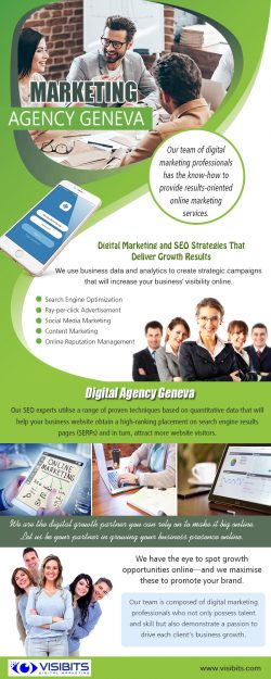 Digital Marketing Agency Geneva | Call — 41 22 575 39 51 | visibits.com