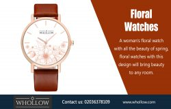 Floral Watches|https://whollow.com