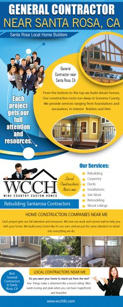 General Contractor near Santa Rosa CA | 707 861 0464 | wcchllc.com