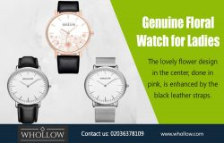 Genuine Floral Watch for Ladies|https://whollow.com