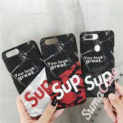 シュプリーム iPhoneXケース 夜光 アイフォンテンカバー 落書き風 SUPREME iPhone8/8plusケース iPhone ...