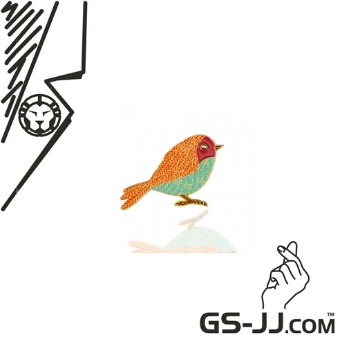 Colorful Bird Custom Enamel Pins from GS-JJ