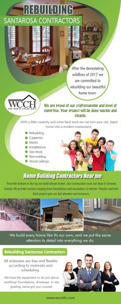 Home Building Contractors Near Me | 707 861 0464 | wcchllc.com
