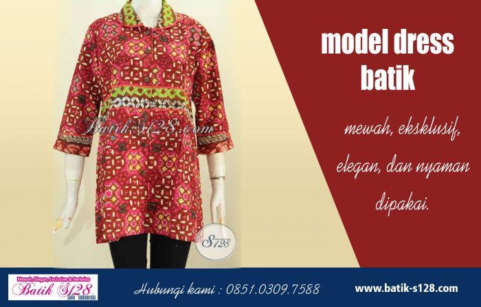 Model Dress Batik