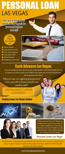 r history, you should consider the personal loans Lasvegas. The requirements to qualify for a lo ...