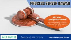 Process Server Hawaii