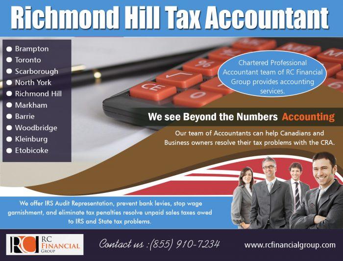 Richmond Hill Tax Accountant