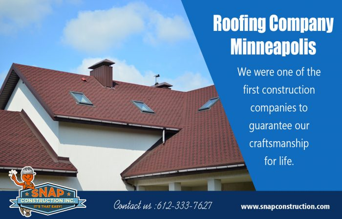 Roofing Company Minneapolis | snapconstruction.com
