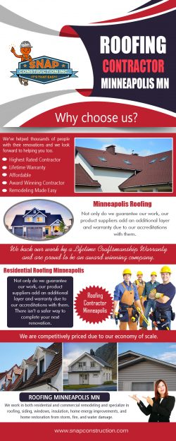 Roofing Contractor Minneapolis MN | snapconstruction.com