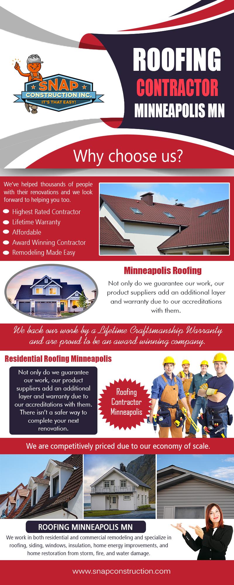 Roofing Contractor Minneapolis MN | snapconstruction.com