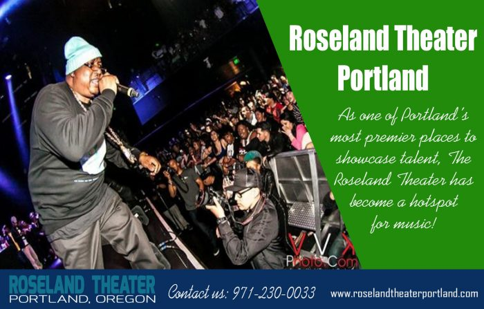 Roseland Theater portland