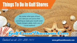 Things To Do In Gulf Shores
