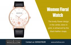 Women Floral Watch|https://whollow.com