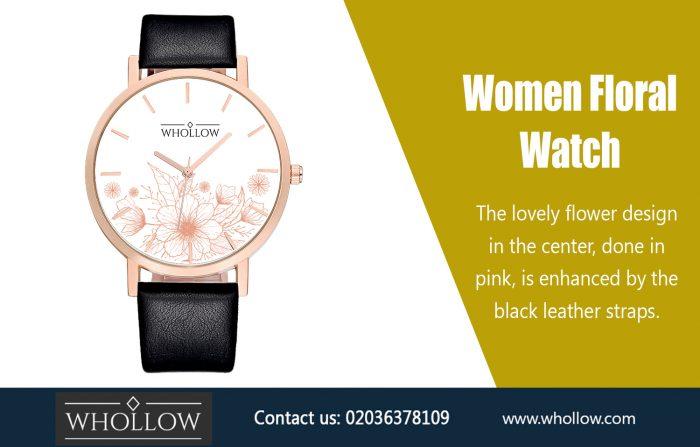Women Floral Watch https://whollow.com